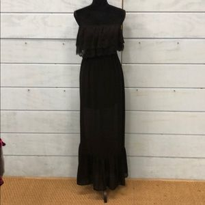 Ya Los Angeles black dress